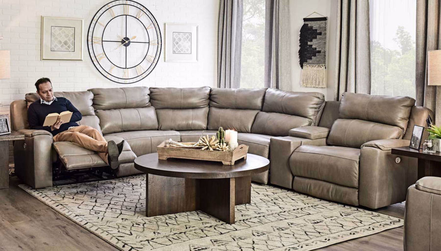 Picture of Overstreet Cobblestone Sectional