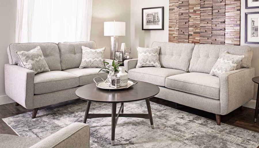 Picture of Hollywood Dove Sofa & Loveseat