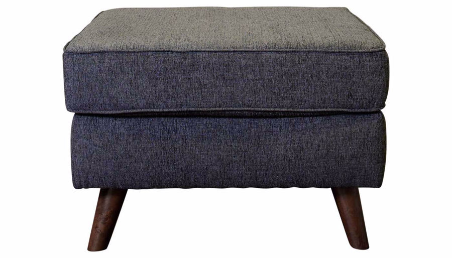 Picture of Hollywood Graphite Ottoman