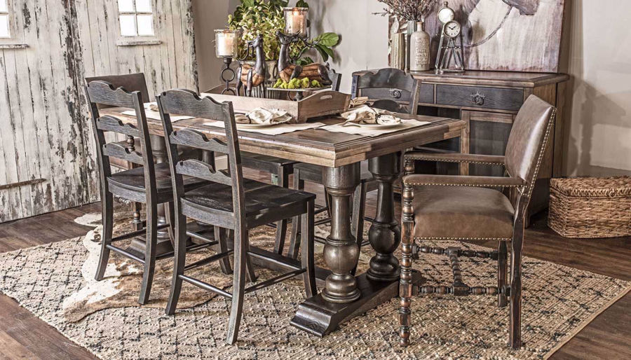 Picture of Cassidy Counter Height Table & Chairs
