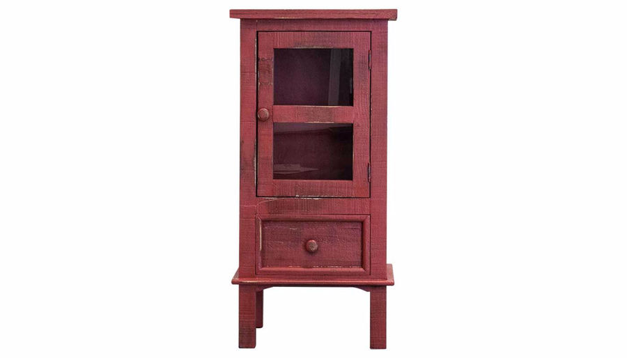 Picture of Side Accent Table Red 236