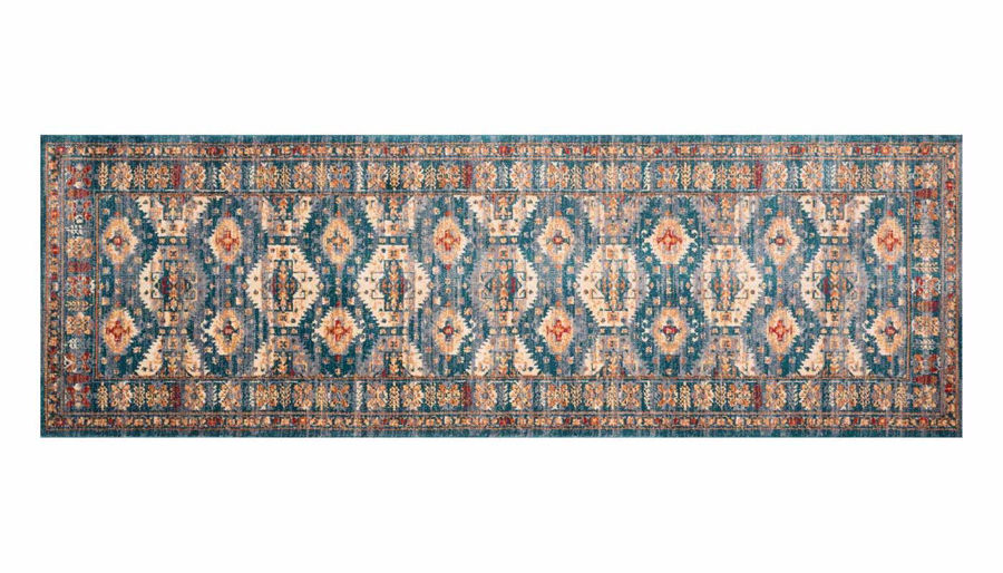 """Picture of Isadora Lagoon Multi Rug 2'7""""X8'"""