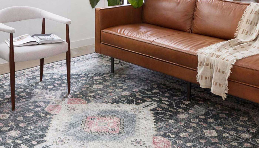 Picture of Skye Charcoal Multi Rug 5'X7'6