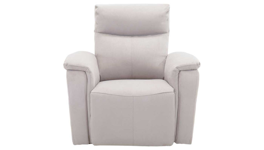 Picture of Aaron Light Motion Grey Swivel Recliner