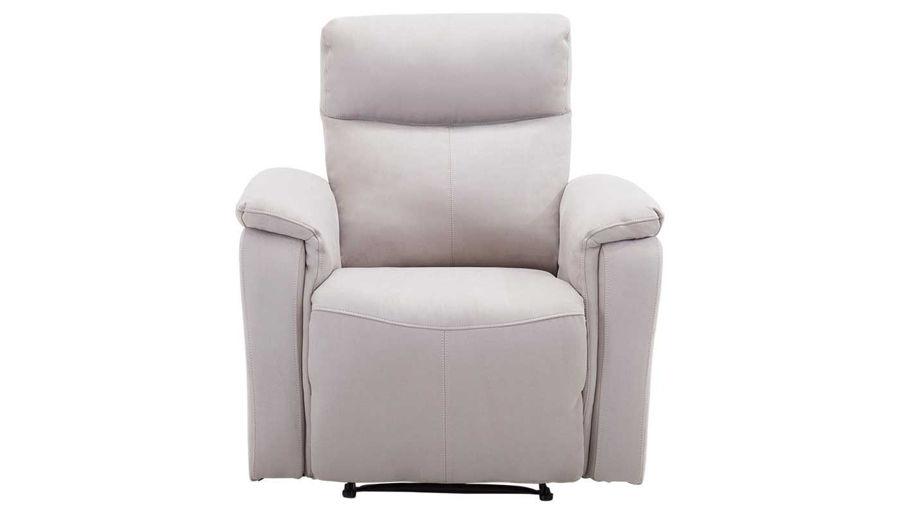 Picture of Aaron Light Grey Power Recliner