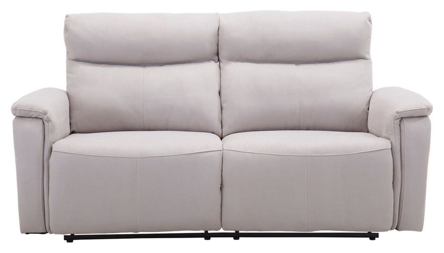 Picture of Aaron Light Grey Power Sofa