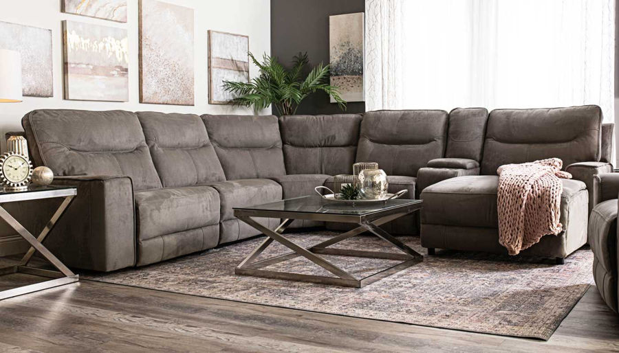 Picture of Arbor 6 Piece Sectional Right Facing Chaise