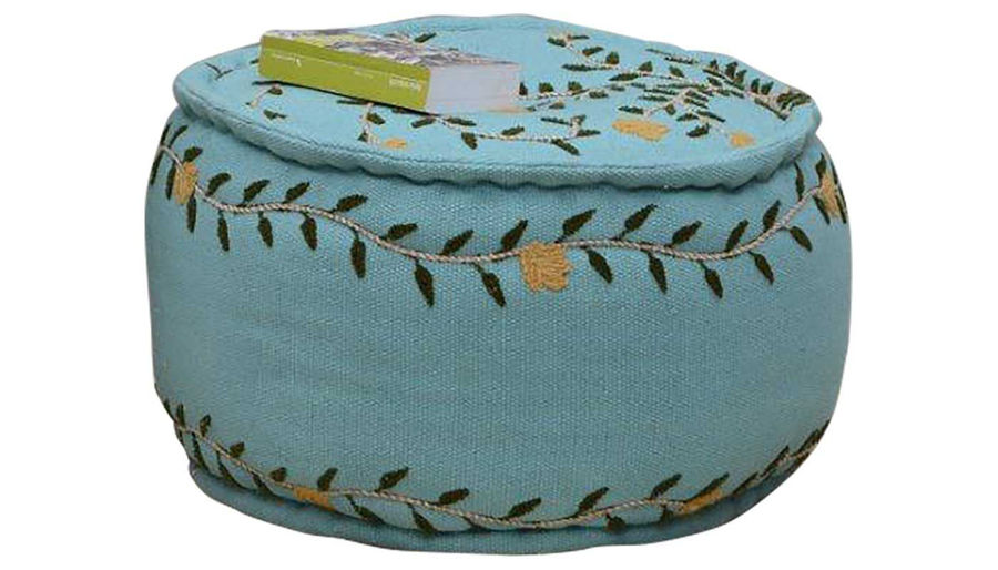 Picture of Audra Cotton Pouf