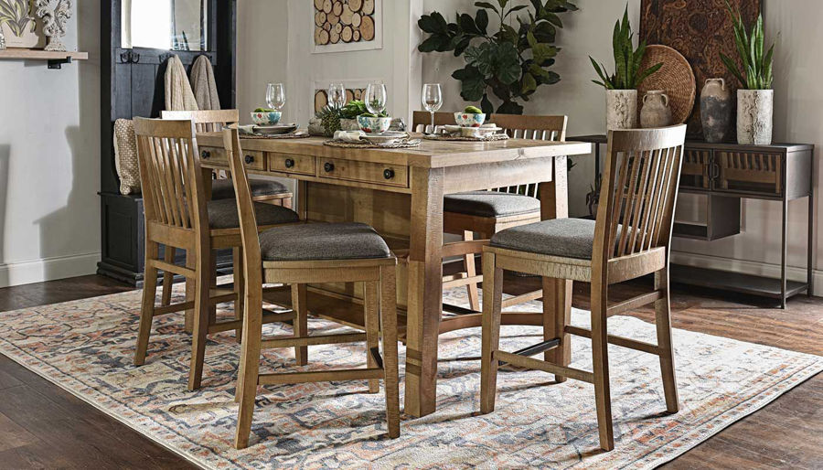 Picture of Market Square Counter Height Table & Chairs