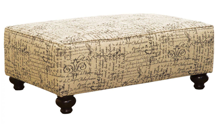 Picture of Trudy Midnight Accent Bench Ottoman