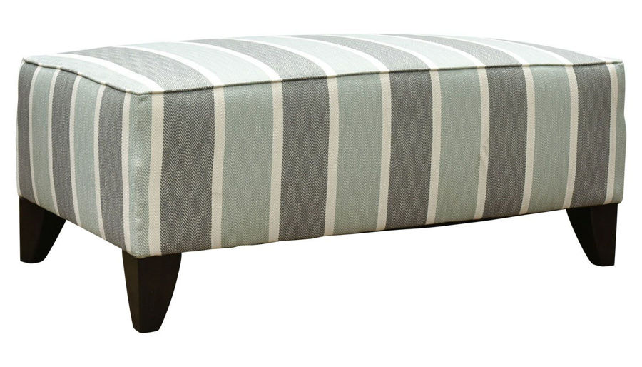 Picture of Regency Mist Accent Bench Ottoman