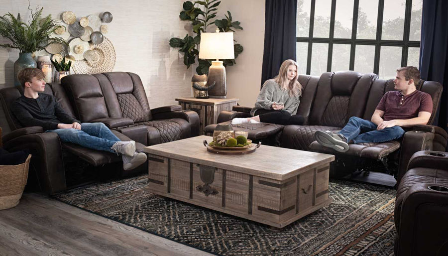 Picture of Grand Cayman Brown Sofa & Loveseat