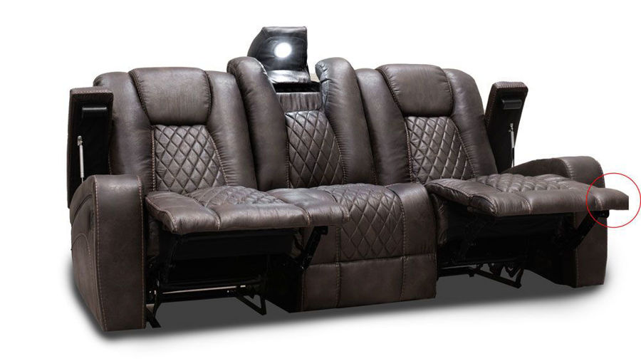 Picture of Grand Cayman Brown Sofa