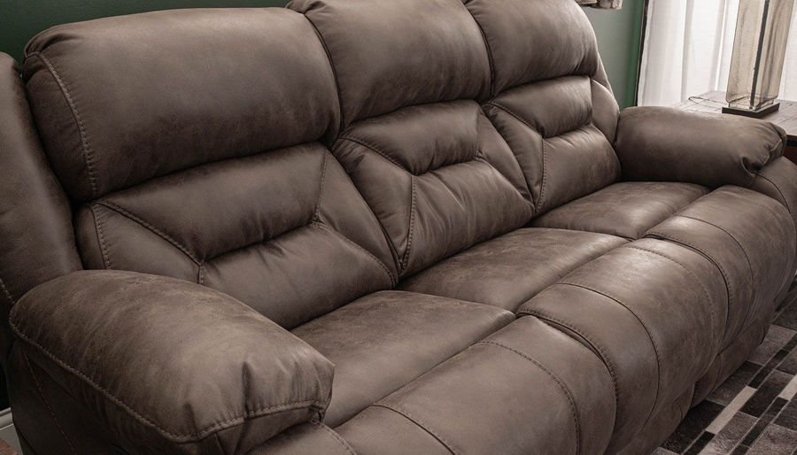 Picture of Houston Taupe Power Sofa & Loveseat