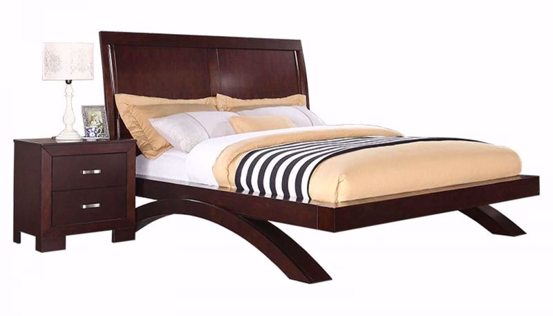 Picture of Condor 3-Piece King Bed, Dresser, Mirror & Nightstand