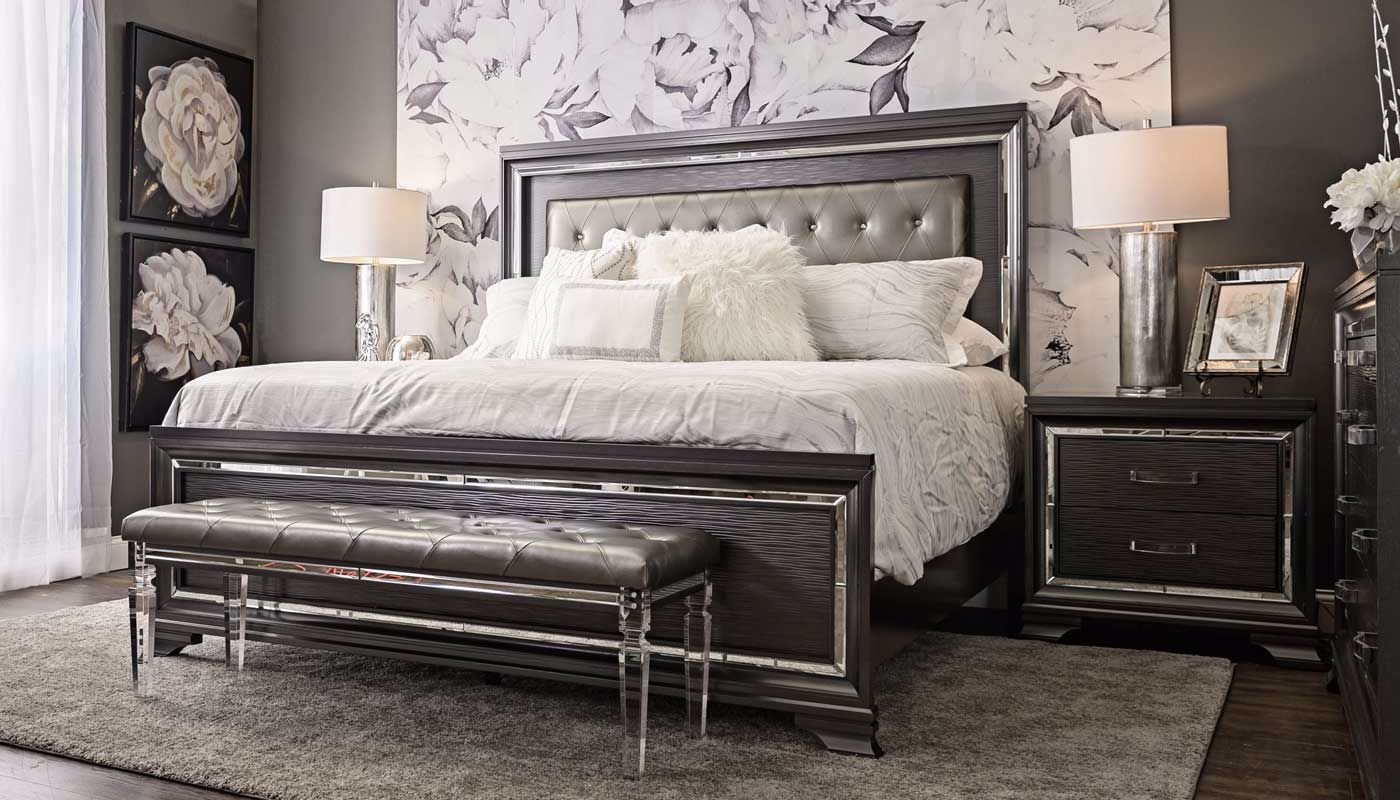 Monroe 6-piece Collection - Home Zone Furniture | Bedroom - Home ...