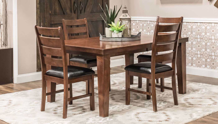 Picture of Paul Bunyan II Table & 4 Chairs