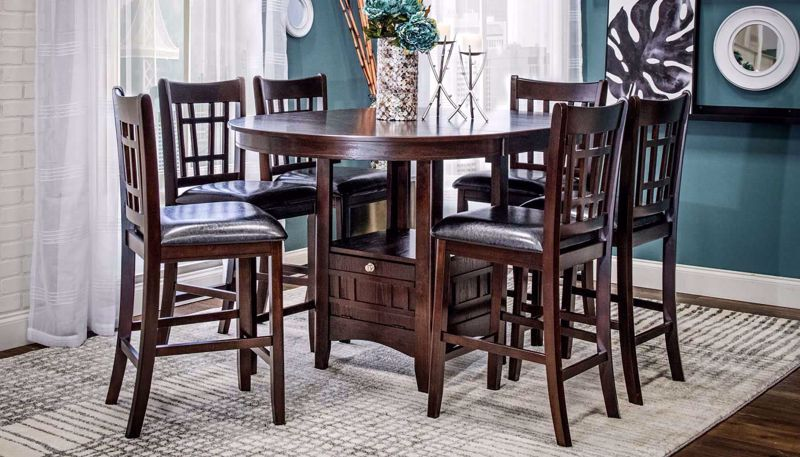 Picture of Waylon II Counter Height Table & 4 Stools