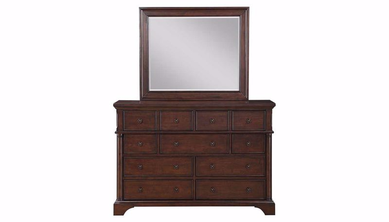 Picture of Caira Dresser and Mirror