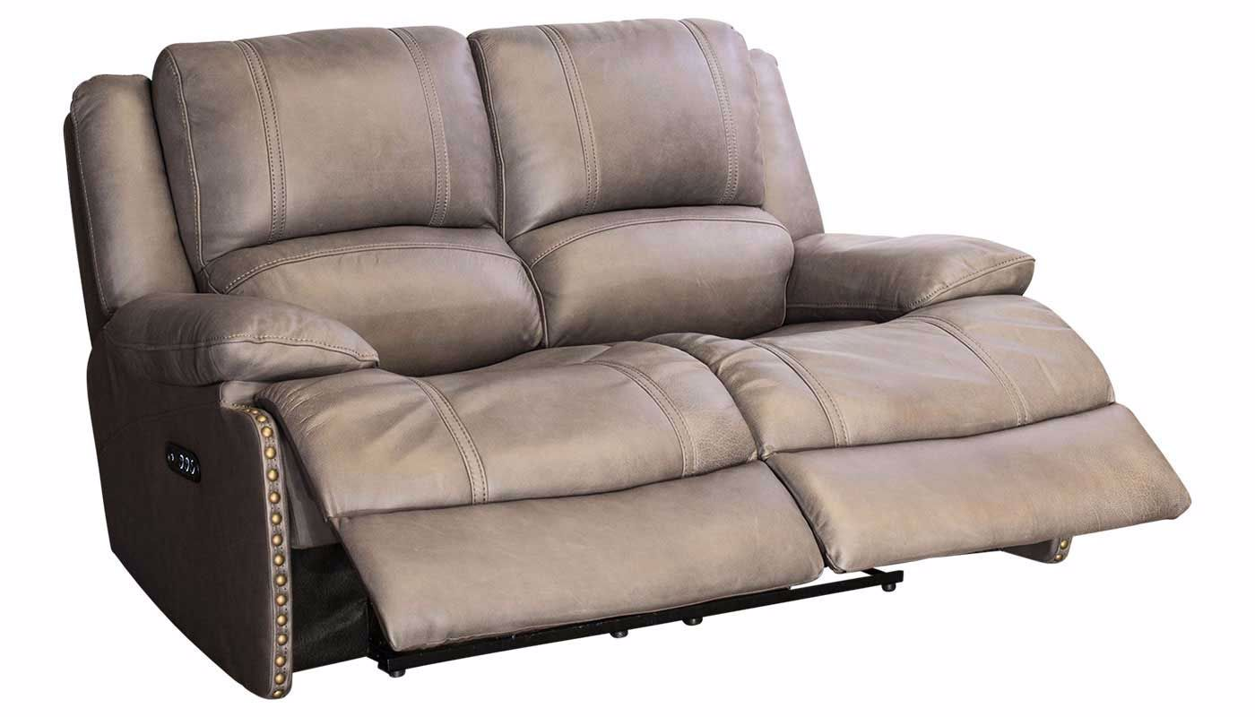 Triple Play Power Reclining Loveseat Home Zone Furniture