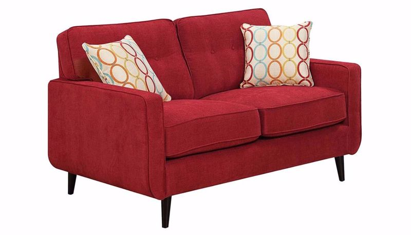 Picture of Amber Scarlet Loveseat