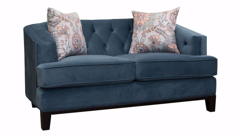 Picture of Capetown Midnight Loveseat