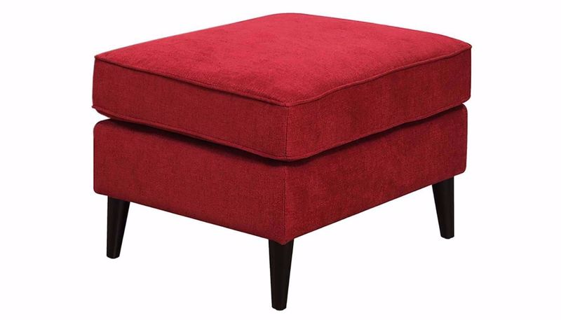 Picture of Amber Scarlet Ottoman