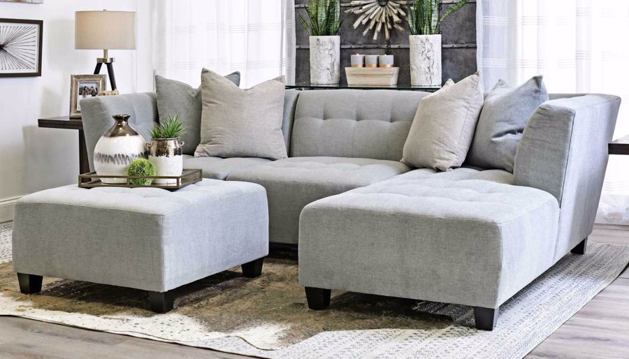 Picture of Cooper Spa 3 Piece Sectional with Right Facing Chaise