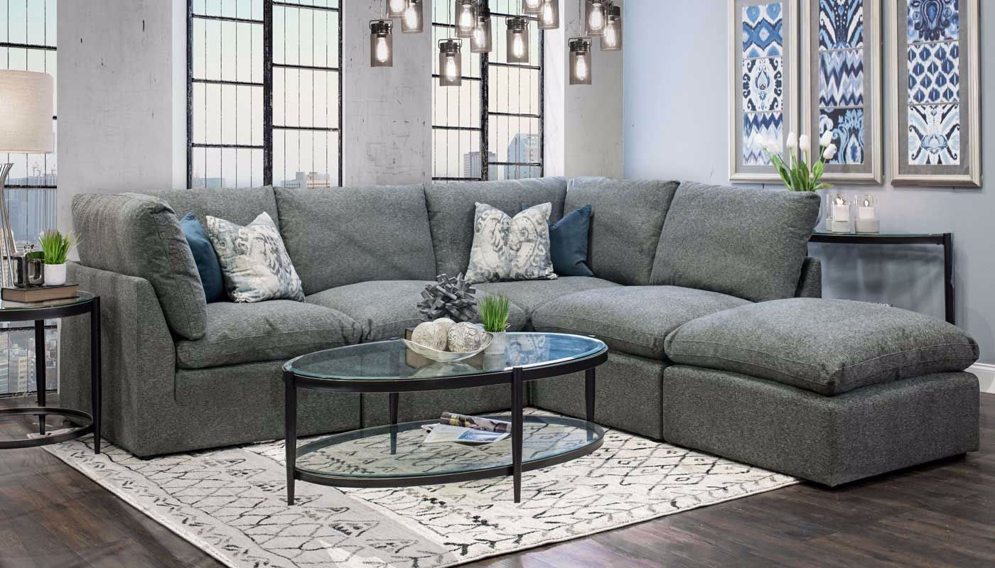 Cloud Sectional Home Zone Furniture Living Room Home