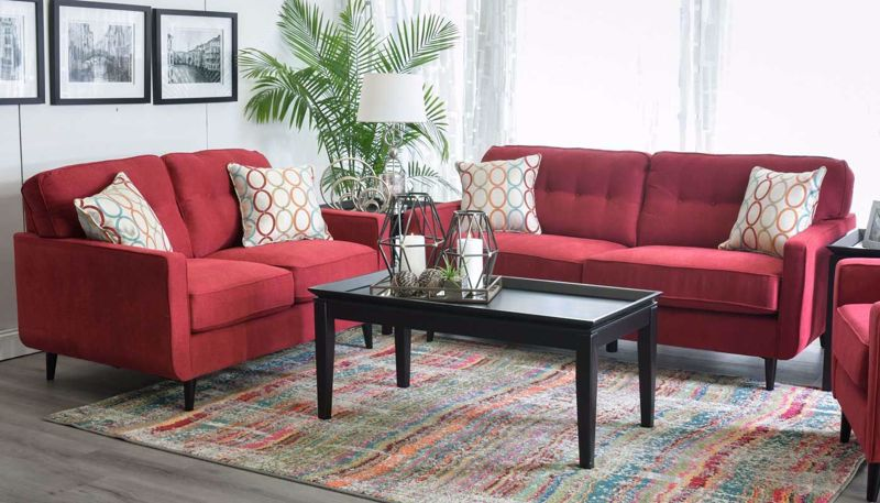 Picture of Amber Scarlet Sofa