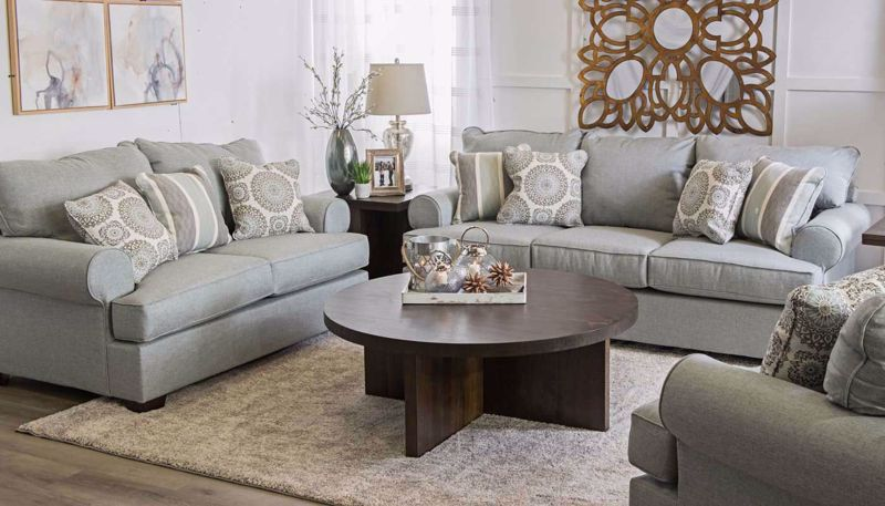 Upholstered Collections - Living Room | Home Zone Furniture ...