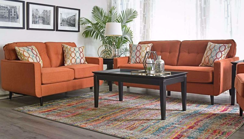 Picture of Amber Hacienda Sofa & Loveseat