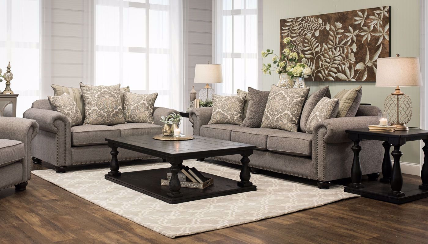 Jacqueline Collection - Home Zone Furniture   Living Room - Home ...