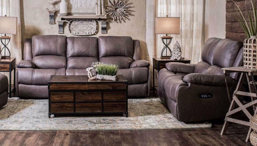 Picture of Triple Play Power Sofa & Loveseat