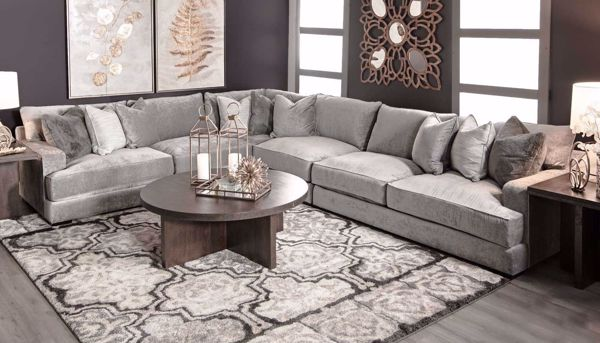 Balboa 4 Piece Sectional Home Zone Furniture Furniture