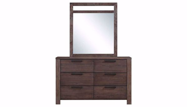 Picture of Bradley 3-Piece King Bed, Dresser, Mirror & Nightstand