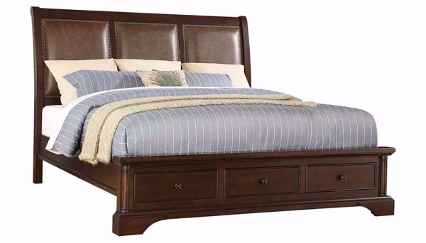 Picture of Caira 3-Piece King Bed, Dresser, Mirror & Nightstand
