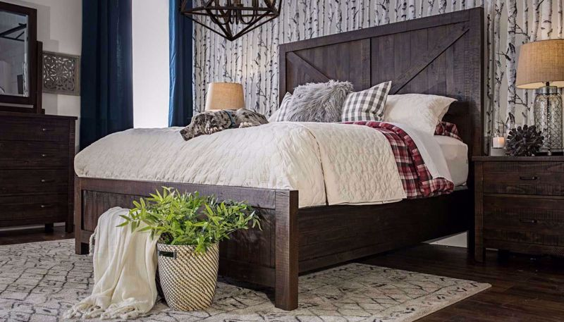 Picture of Fort Worth 3-Piece King Bed, Dresser, Mirror & Nightstand