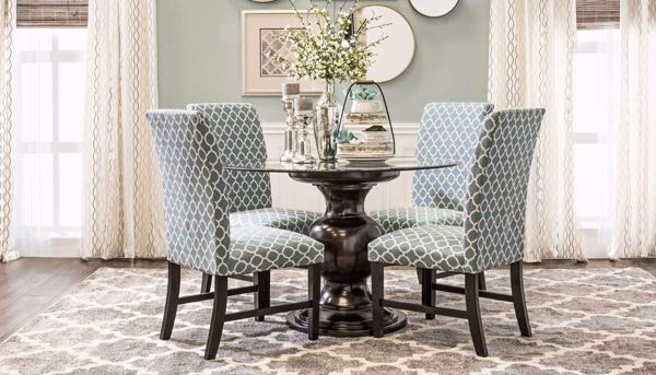 Remarkable Malaga Table 4 Blue Chairs Alphanode Cool Chair Designs And Ideas Alphanodeonline