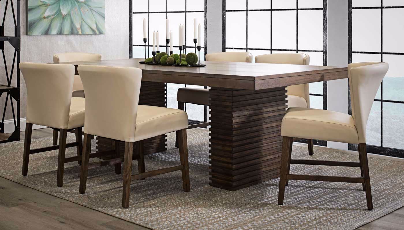 Picture Of Sonoma Table 4 Taupe Side Chairs