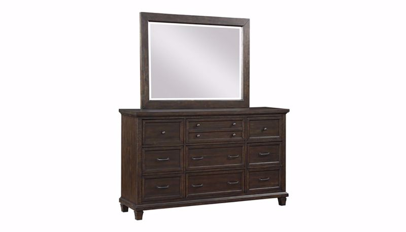 Picture of Cedar Grove Dresser and Mirror