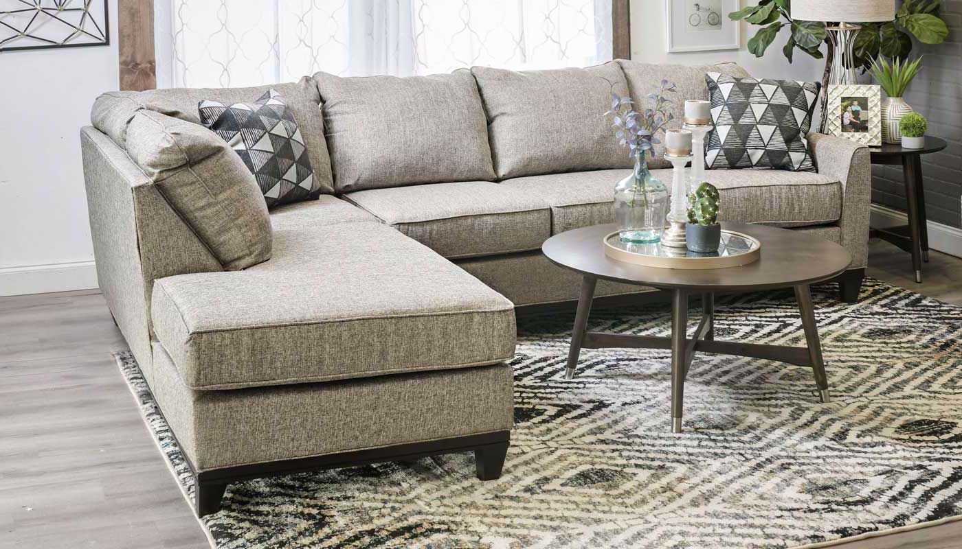Terrific Emerson Sectional Pabps2019 Chair Design Images Pabps2019Com