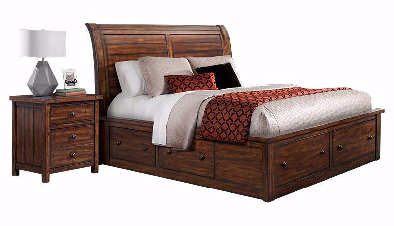 Picture of Dawson Creek Storage King Bed