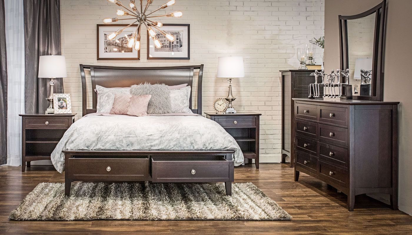 Anastasia King Bed Home Zone Furniture Bedroom Home