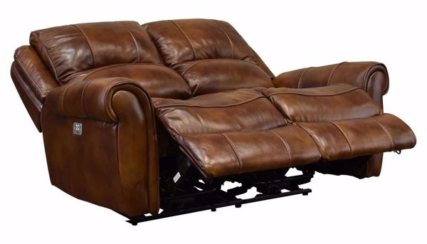 Barron Power Reclining Loveseat Home Zone Furniture