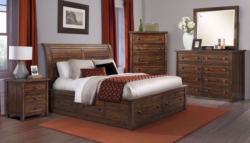 Picture of Dawson Creek Storage Queen Bed