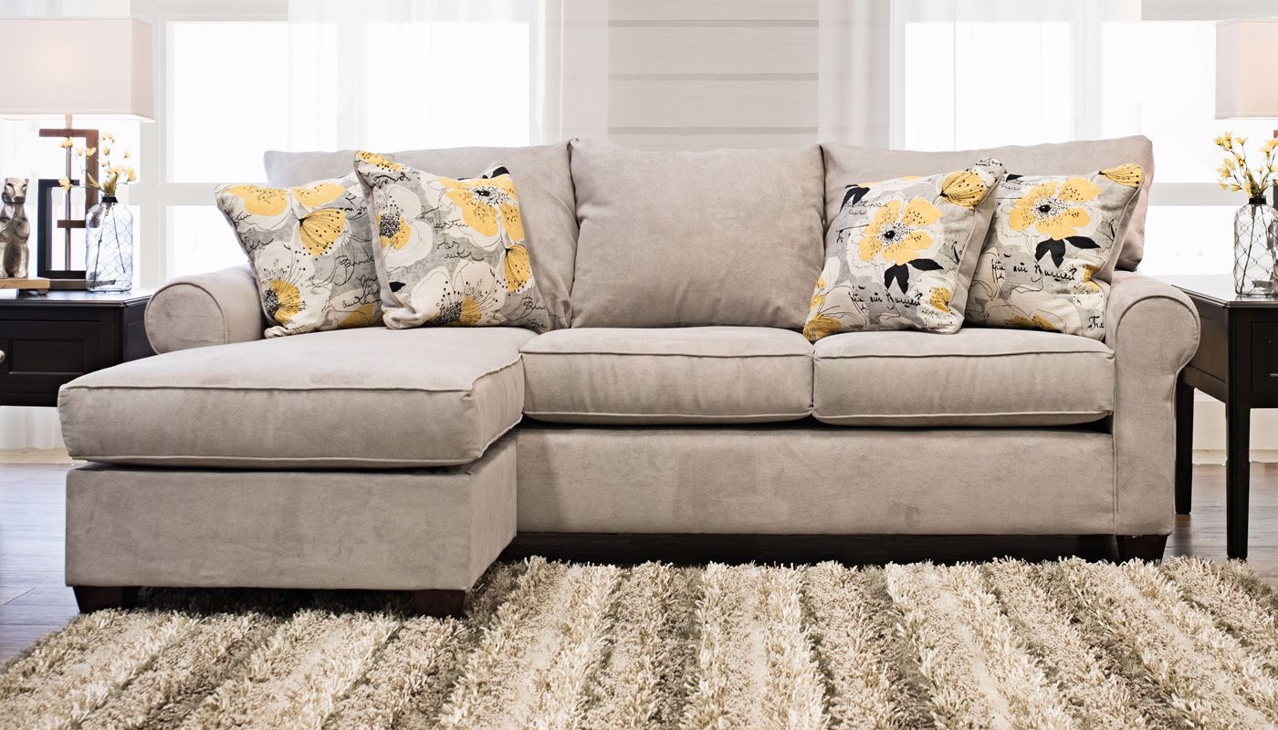 Pacific Beach Sectional - Home Zone Furniture | Living Room - Home ...