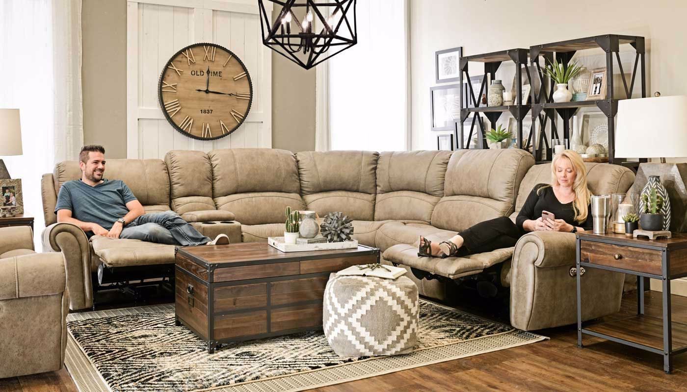 Game Day Sectional Home Zone Furniture Living Room