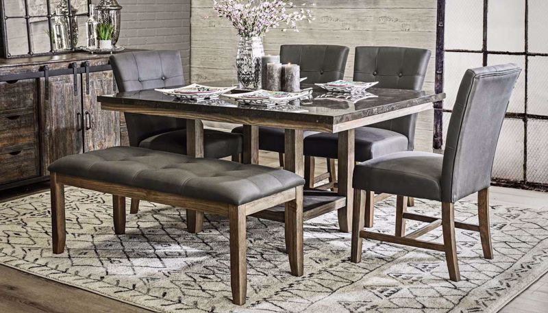 Picture of Brady Table & 4 Counter Height Stools