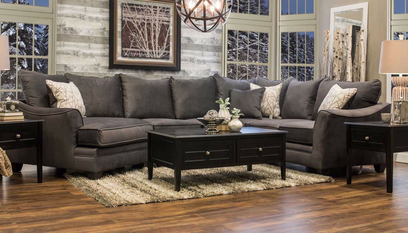 Brazil Sectional With Chaise Home Zone Furniture Living Room Home Zone Furniture